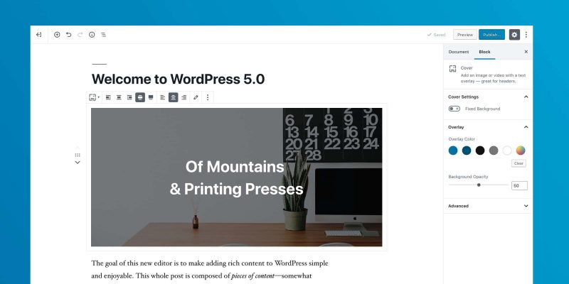 WordPress5.0